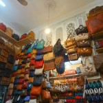 Leather Goods at the Souk