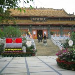 Temple at Lantau Island