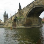 The Charles Bridge Across the Vltava