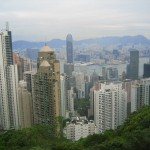 The View of Hong Kong from Victoria Peak