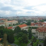 A View of the city from Prague Castle