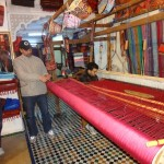 Weaving with Agave Silk