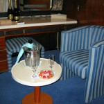 A Nice Welcome in Our Stateroom