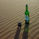 Some Sunset Wine in the Sahara