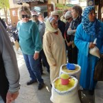 Local Ladies Shopping at the Souk