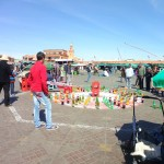 AGame of Chance in the Place Jemaa El-Fna