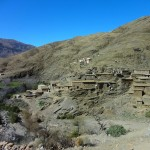 Houses in the High Atlas Mountains
