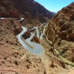 The Road to the Dades Gorge
