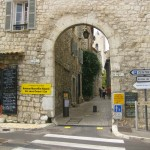A Gate to the Old City of Vence