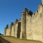 The Lices and the Inner wall of Carcassonne