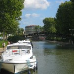 The Magnifique on the robine Canal