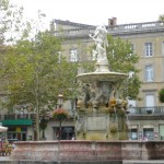The Town Square of Basse Carcasonne