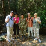 Trekkers in the Jungle