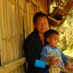 A Hmong Grandma and Grandson