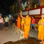 Monks Letting Their Hair Down (so to speak)