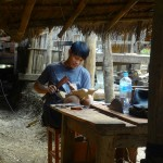 A Village Woodcarver