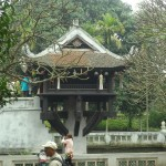 The Chua Mot Cot Pagoda