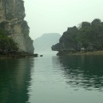 Limestone Formations of Halong Bay