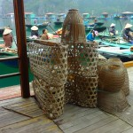 Fish Traps at Halong Bay