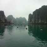 Oyster Farms in Halong Bay