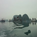 Humps of the Dragon at Halong Bay