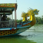 Dragon Boat on the Perfume River at Hue