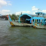 Market Boats in the Mekong Delta
