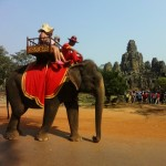 Angkor Thom Tour by Elephant