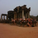 Sunrise Spectators at Angkor Wat