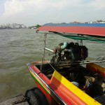 On the River in a Longtail Boat