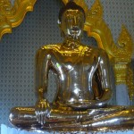 Solid Gold Buddha in Wat Traimit