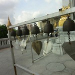 Gongs at Wat Traimit