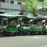 Delivery Tuk Tuks in the Old City