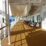 The Promenade Deck Just Below the Life Boats