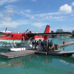 Boarding Time on the Maldivian Air Taxi