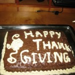 "A Special ""Thankgiving"" Cake"
