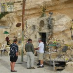 Shopping at Abu Habib's Cave Store