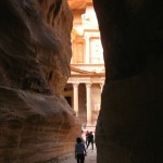 Our First Peek at the Treasury of Petra
