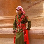 A Ceremonial Guard at Petra