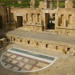 The Roman Theater at Jerash