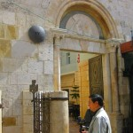 The 4th Station of the Cross on the Via Dolorosa