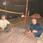 Tea with the Bedouins at Wadi Rum