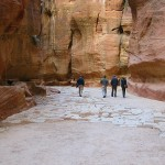 The Siq at Petra